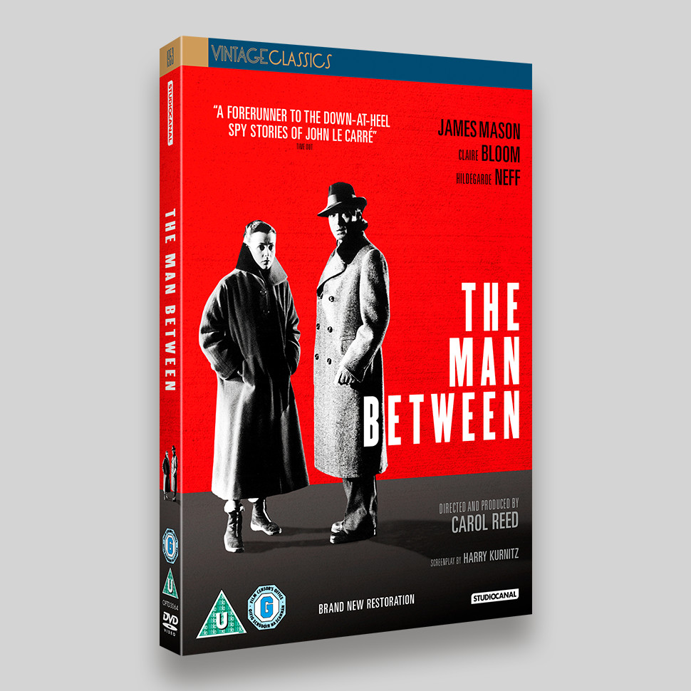 The Man Between DVD Packaging