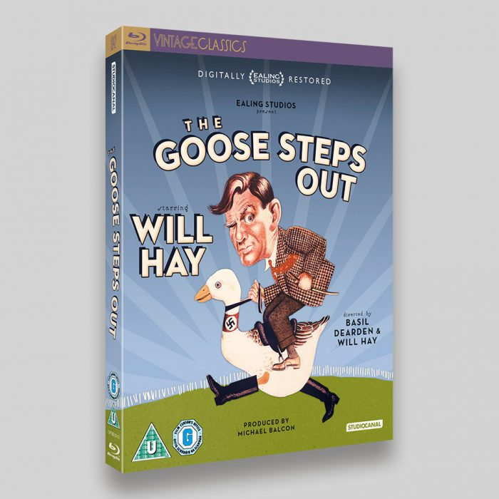 The Goose Steps Out Blu-ray O-ring Packaging