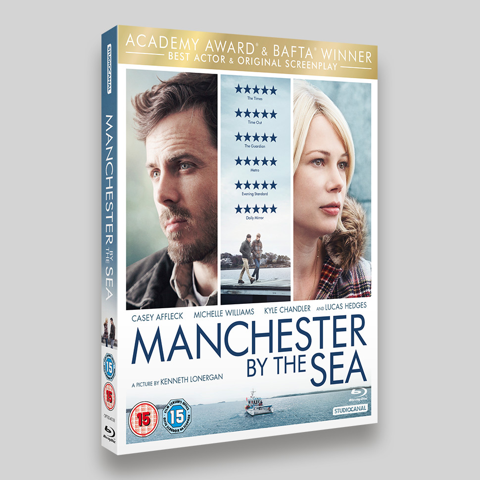 Manchester By The Sea Blu-ray O-ring Packaging